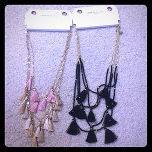 American eagle necklaces- new with tags
